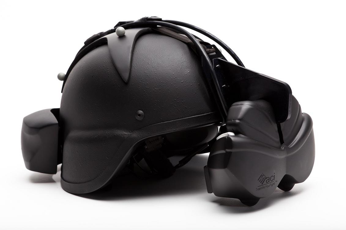 Proto Helmet mounted