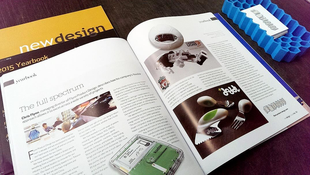 Yearbook product design and development company for New product design