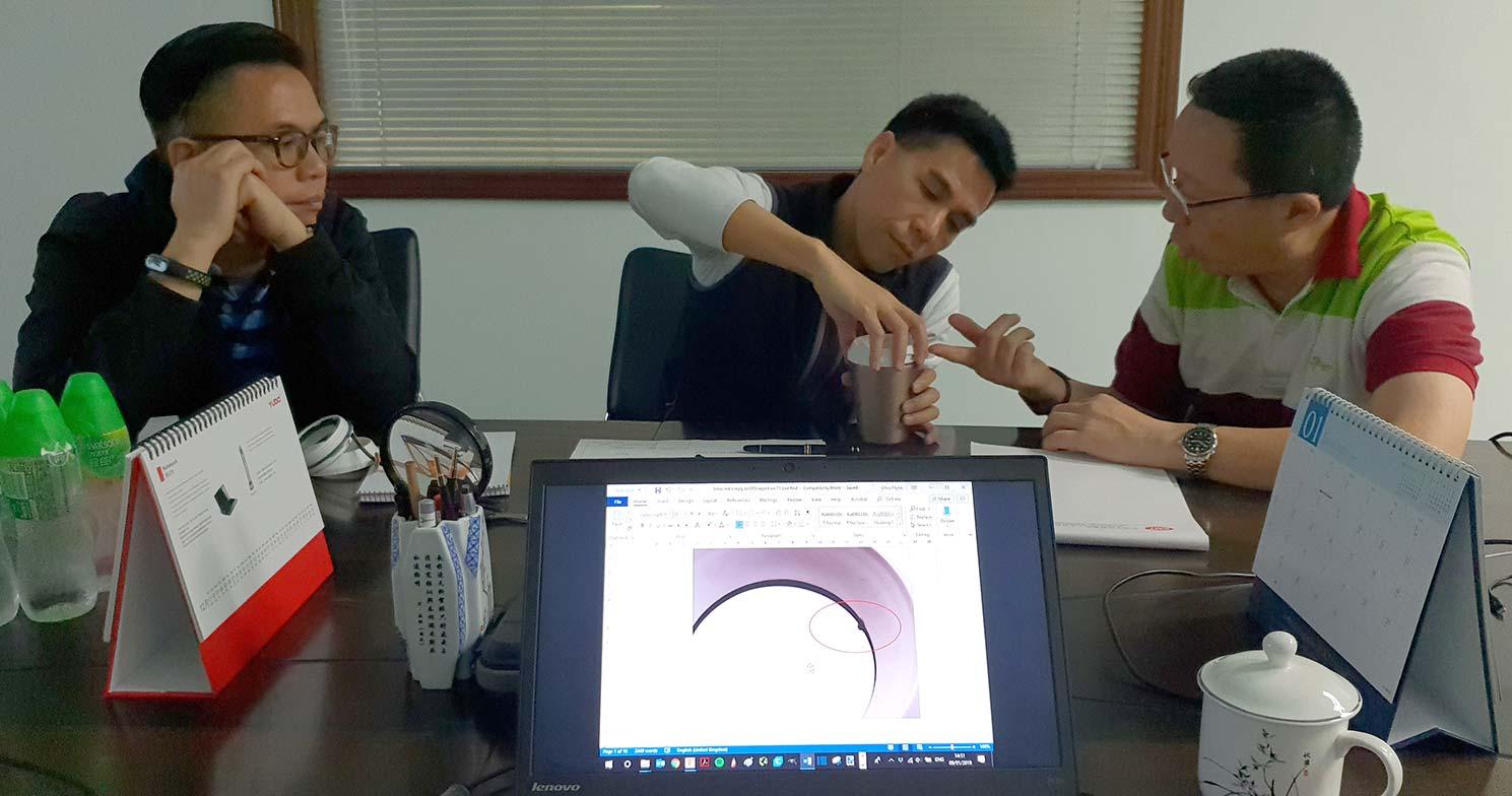 Toolmaker meetings